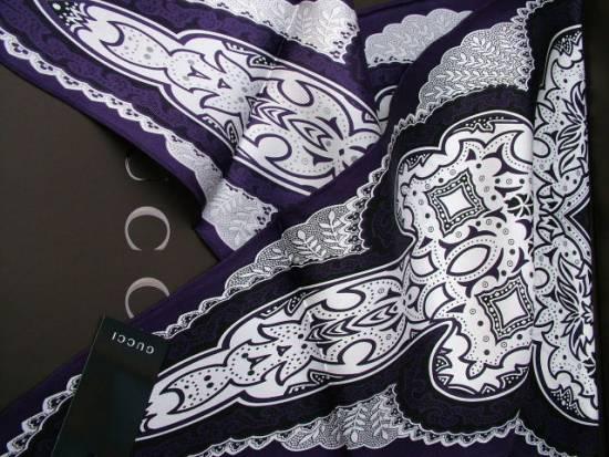gucci bandana scarf sciarpe seide 123 cm x 42 cm neu ebay